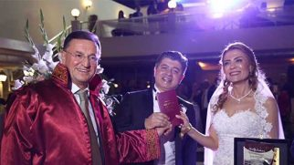 Ertuğrul Doğanlılar evlendi