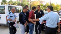 Nisan'da 4254 kişi  yakalandı