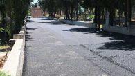 Mezarlığa asfalt!