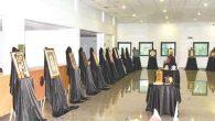 1. Ulusal Jürili 19 Mayıs Karma Sergisi sanatseverlerin ilgi odağı oldu