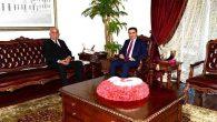 Başkan Seyfi Dingil'den Ercan Topaca ziyareti