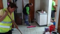 Defnede evde temizlik