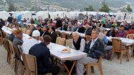 Çadırkentteki Türkmenlere iftar jesti