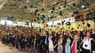 Antakya MYO mezunları KEP fırlattı