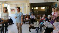 Nazan savaş huzurevinde yaşlılarla…
