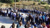 Türkmen kampında buruk bayram kutlaması