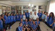 Şampiyon Kızlar Isparta'da