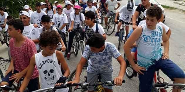 Samandağ'da  Bisiklet Turu