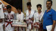 HBB Karatecileri Adıyaman'dan madalyalarla döndü