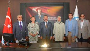 Başkan Kimyeci, vekilleri makamında ağırladı