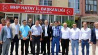 Başkan Savaş'tan MHP'ye tebrik ziyareti