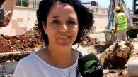 Kadın Muhtar Sahada,  Şantiyede…