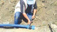 Sulama sistemi onarıldı