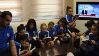 Şampiyonlar kitap okur!