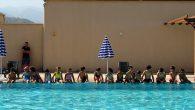 Yüzme kurslarına yoğun ilgi