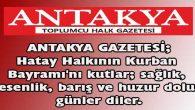 Antakya Gazetesi;