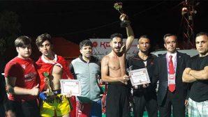 Muay Thai'de;