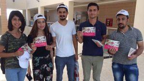 MKÜ Öğrencilerine Step Green Projesi