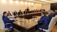 Yayman ve AK Partili Başkanların ziyareti