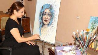 Ressam  Bahçeci,  eserleriyle  göz dolduruyor