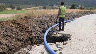 30 yıllık içme suyu hattı değiştirildi