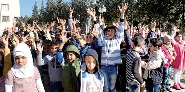 Hatay'da 56.000 Suriyeli Öğrenci
