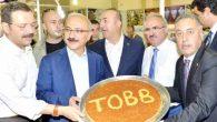 TOBB Başkanı Hisarcıklıoğlu'na