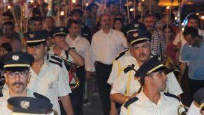 """Samandağ'da farklı """"Cumhuriyet Bayramı"""" kutlaması"""