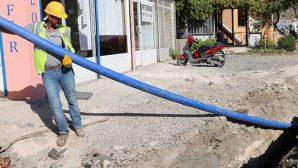 Samandağ içme suyu hattında yenileme çalışmaları
