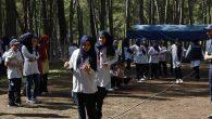 Sığınmacı çocuklara bir günlük kamp