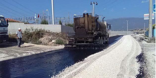 Defne'de asfalt