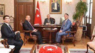 Vali Ata Ankara'dan döndü