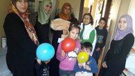 Belen'de Suriyeli çocuklara aşı