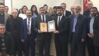 Yayman'a araştırma ödülü