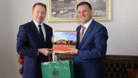 Avustralya Büyükelçisi Brown'dan HBB ziyareti …