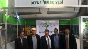 Ankara'da  Defne İpek Şalı