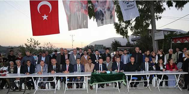 Ova'da CHP'ye katılımlar