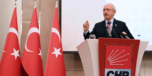 CHP Genel Başkanı Kemal Kılıçdaroğlu…