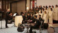 Cizre'de büyüleyen konser …