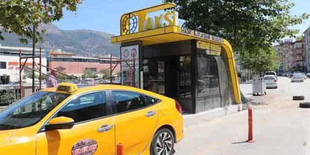 Hatay BŞB'den 2 yeni taksi durağı: