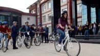 MKÜ Öğrencilerine bisiklet