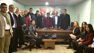 CHP Defne Yönetimi görev bölümü yaptı