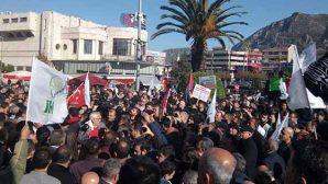 Hatay'da da Protesto