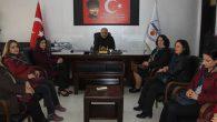 Samandağ'da CHP'li kadınların ziyareti