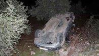 Hassa'da otomobil devrildi:  3 yaralı