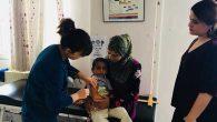 Aşı, Suriyeli Çocuklara da…