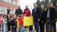 """Minikler """"BŞB Başkanımız Hoş Geldi"""" diyor"""