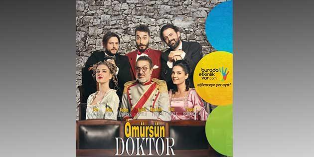 """""""Ömürsün Doktor""""  7 Ocak'ta Antakya'da"""