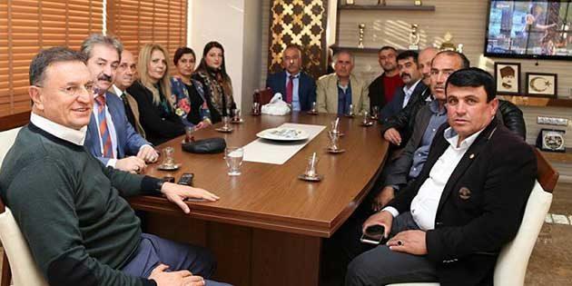 Yayladağı CHP Heyeti ziyareti