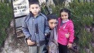 Üç kardeş yetim kaldı